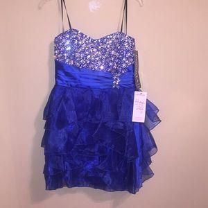 Royal Blue Homecoming Dress !! Staples Ladies